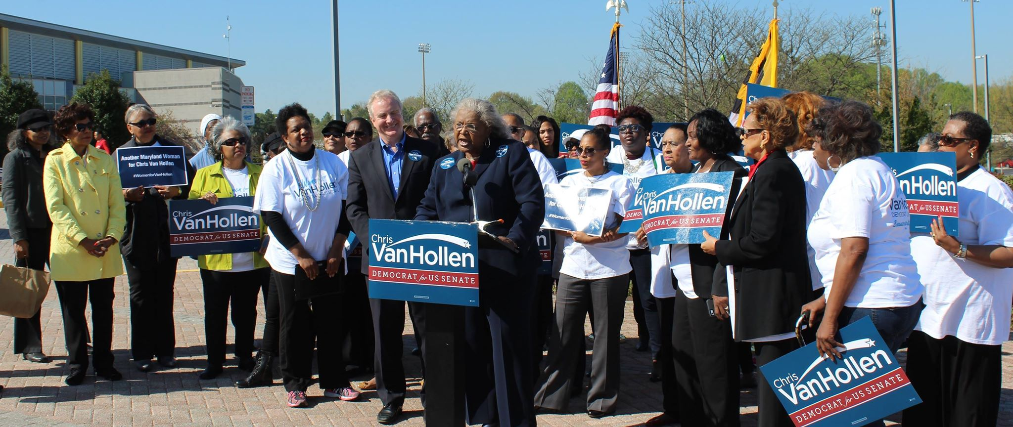 100 African American Women Leaders from Maryland for Van Hollen